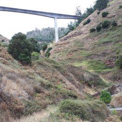 Het bruggetje over de Ribeira Funda.