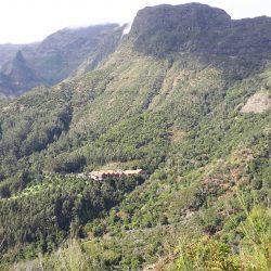 Uitzicht op Estalagem Encumeada