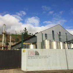 Rum fabriek op industrie terrein