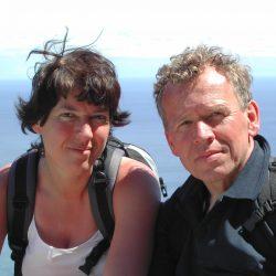 Een selfie uit 2004 op Madeira.